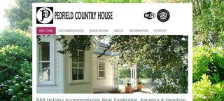 Pedfield Country House B&B | Rates from NZ$110